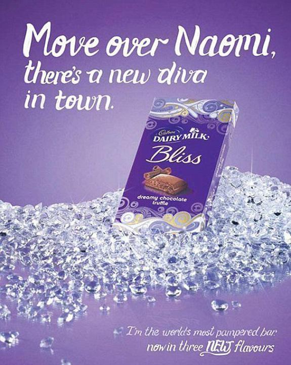 Cadbury - Naomi Campbell