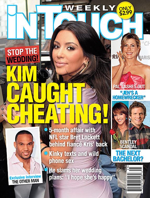 Kim Kardashian - In Touch