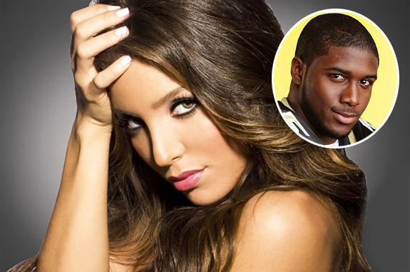 Melissa Molinaro and Reggie Bush