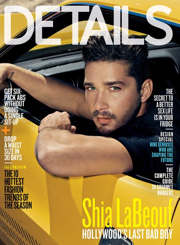 Shia LaBeouf - Details Magazine