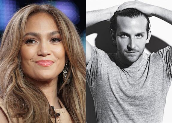 Jennifer Lopez and Bradley Cooper