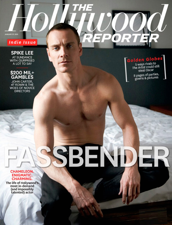 Michael Fassbender - The Hollywood Reporter