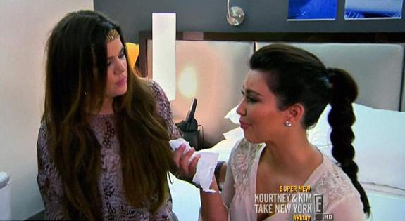 Kim and Khloé Kardashian