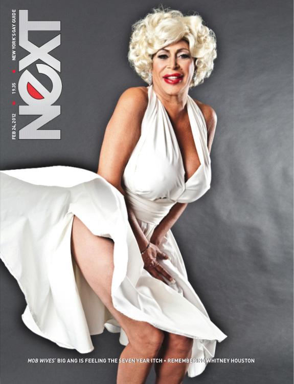 Angela 'Big Ang' Raiola does Marilyn Monroe