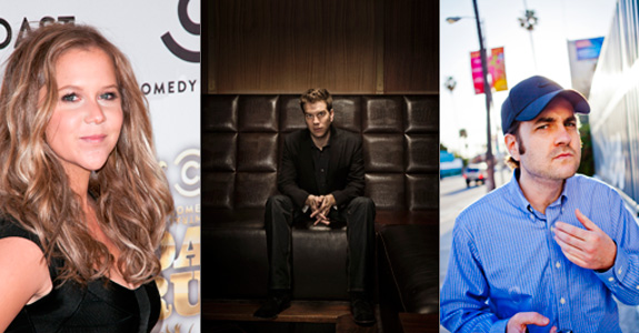 Amy Schumer, Anthony Jeselnik and Ben Hoffman
