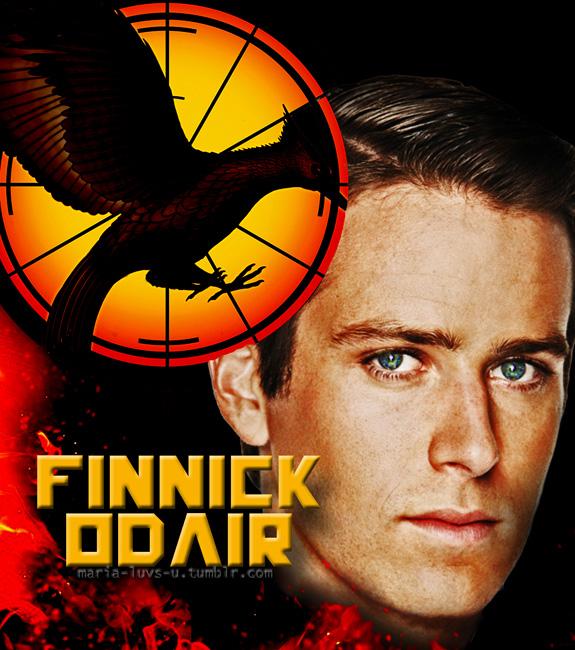 Armie Hammer as Finnick Odair