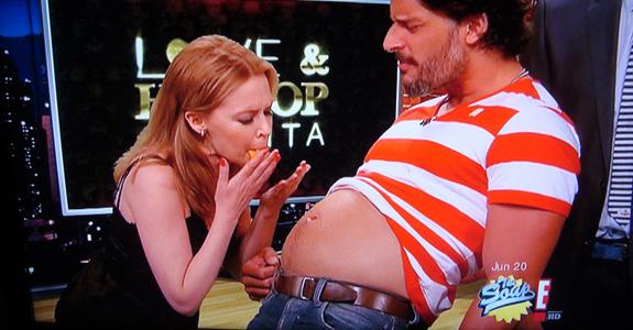 Joe Manganiello and Kylie Minogue