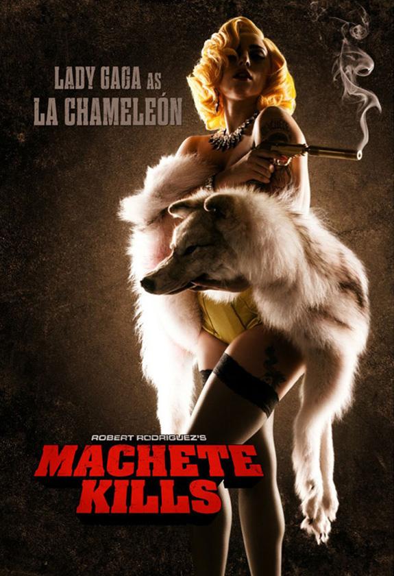 Lady Gaga is La Chameleón