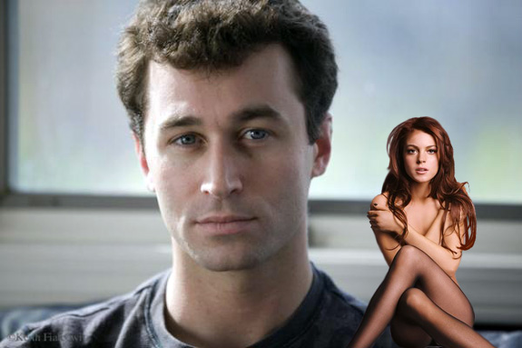 James Deen and Lindsay Lohan