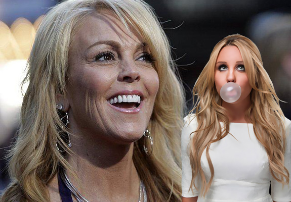 Dina Lohan and Amanda Bynes