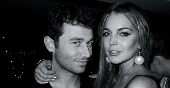 James Deen and Lindsay Lohan
