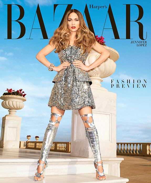 Jennifer Lopez - Harper's Bazaar February 2013