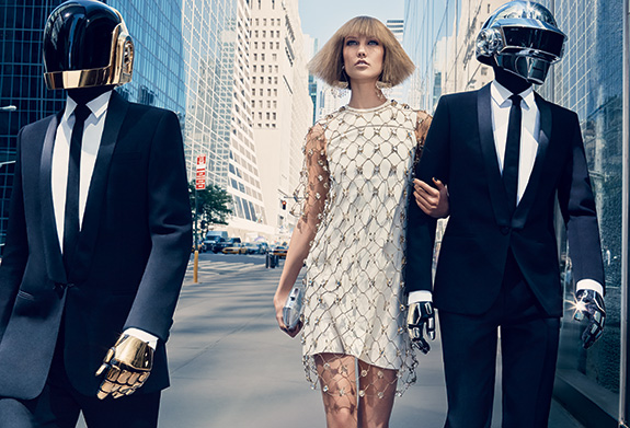 Daft Punk and Karlie Kloss