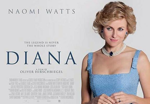 Naomi Watts is 'Diana'