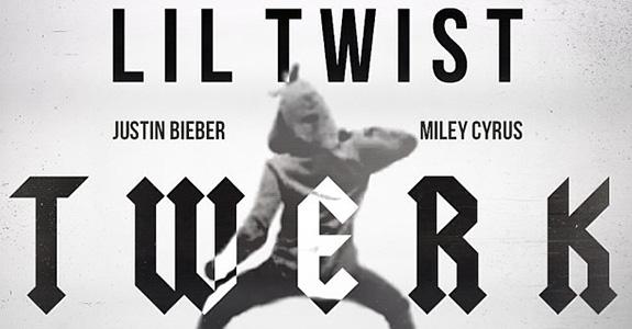 "Lil Twist ""Twerk"" featuring Miley Cyrus and Justin Bieber"