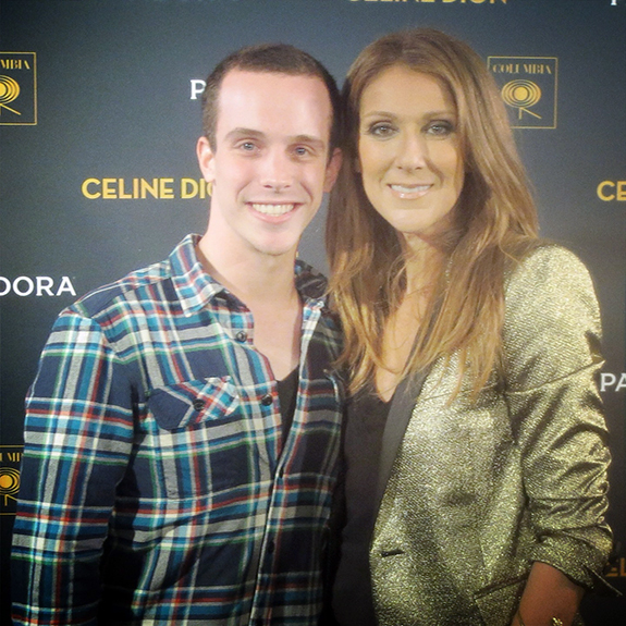 Alex Nagorski and Celine Dion