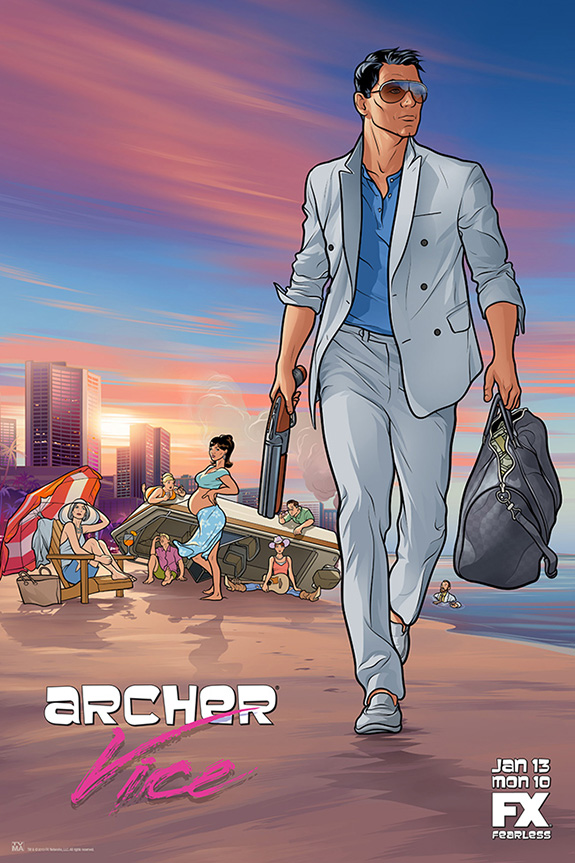Archer Season Five