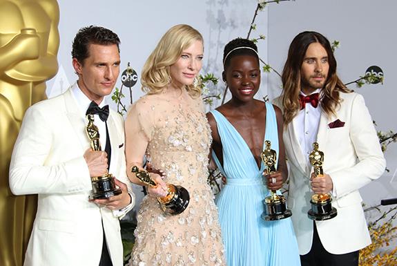 Matthew McConaughey, Cate Blanchett, Lupita Nyong'o, Jared Leto