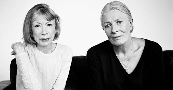 Joan Didion & Vanessa Redgrave