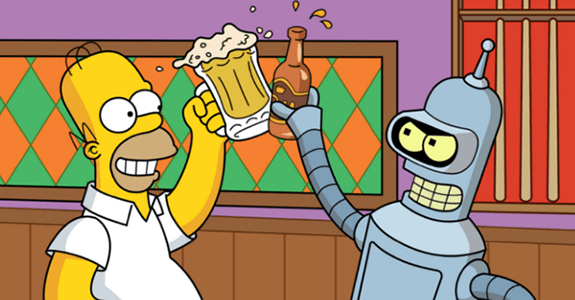 The Simpsons and Futurama