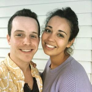 Alex Nagorski and Nadine Sierra