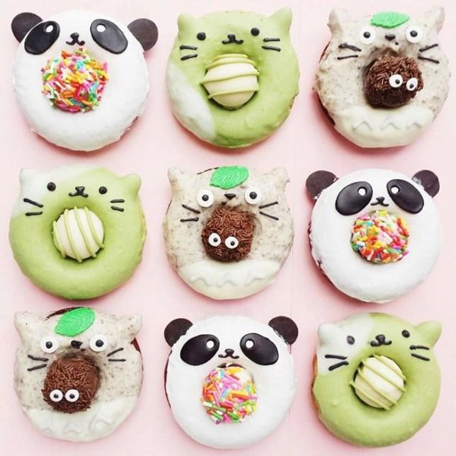 Kawaii Cute Donuts 01