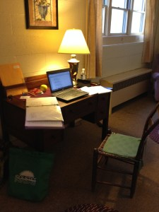 Retreat writing spot