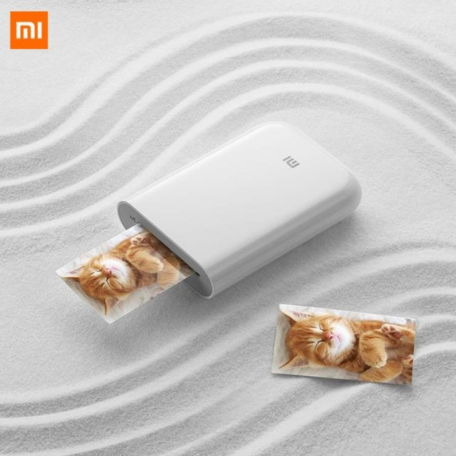 XiaoMi Mijia AR Printer 300dpi Portable Mini Travel Party Photo Picture Printer Pocket Camera DIY Share 500mAh Picture