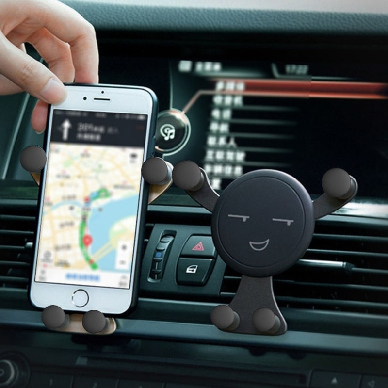 Compact Car Vent Gravity Phone Holder