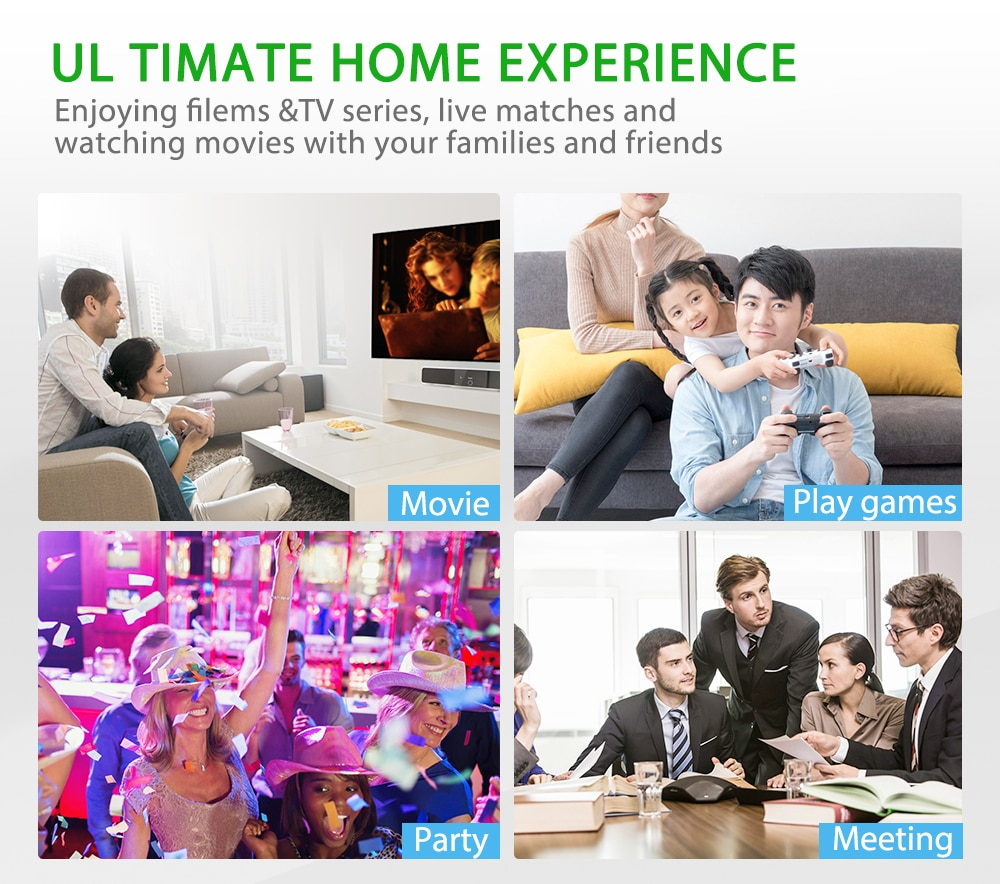 ThundeaL Full HD 1080P Projector TD96 TD96W Android WiFi LED Proyector Native 1920 x 1080P 3D Home Theater Smart Phone Beamer