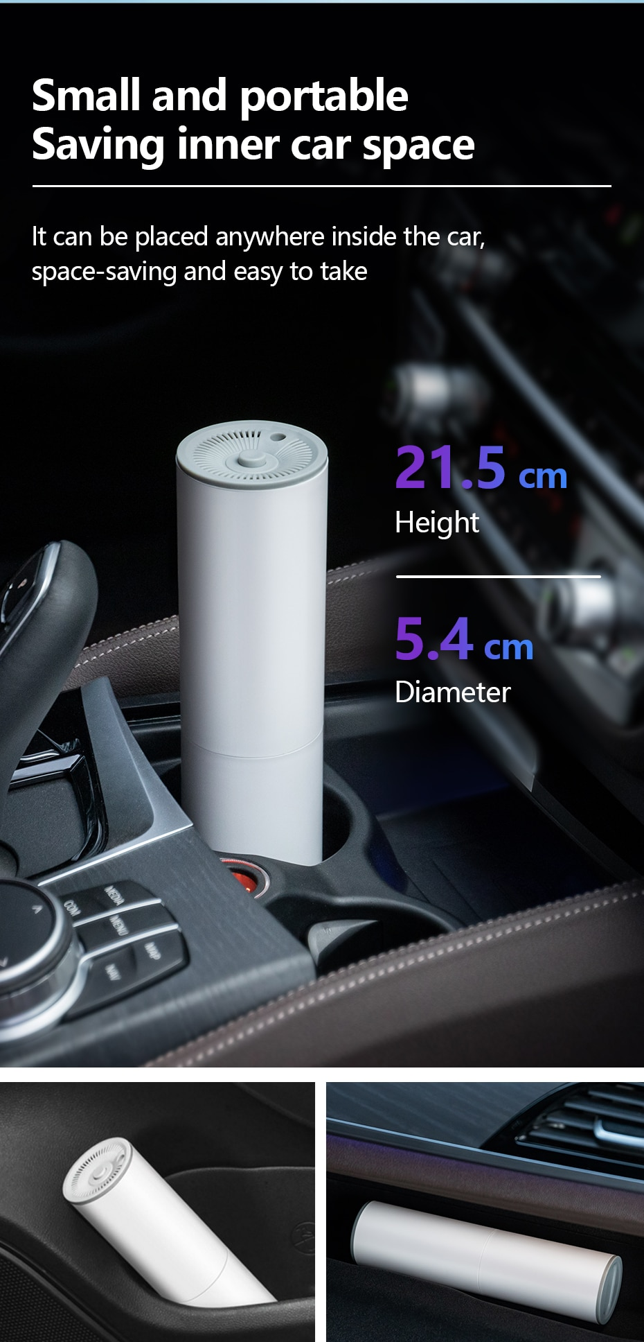 Wireless Portable Car Vacuum Cleaner Handheld Auto Vaccum 7000PA 120W High Suction For Home Cleaning Wet Dry Mini Vacuum Cleaner