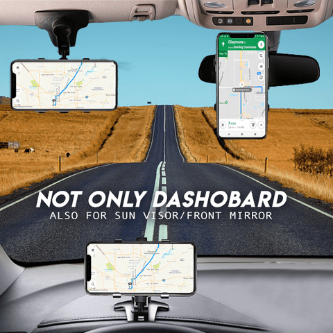 front mirror-Car Dashboard Phone Holder