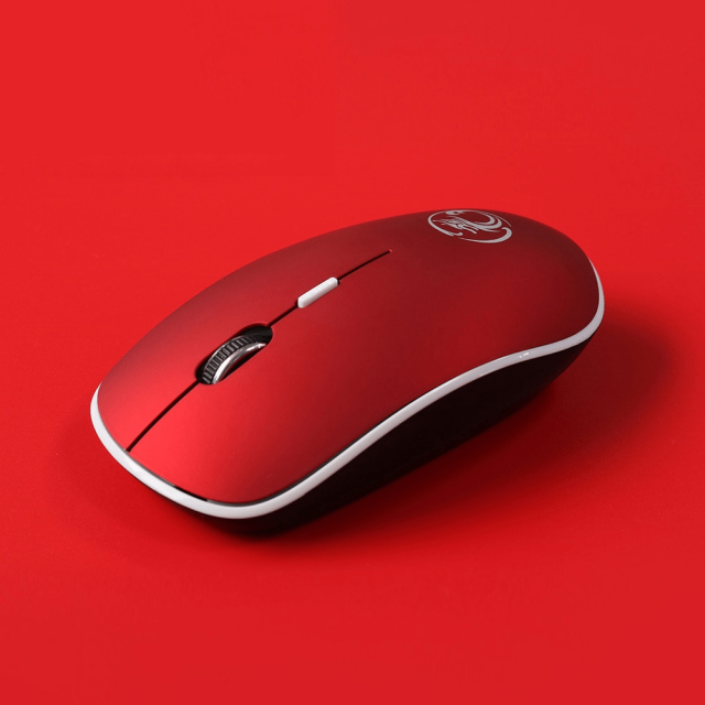Slim Silent Wireless Mouse