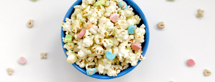 Lucky Charms Popcorn   Popcorn & Chocolate