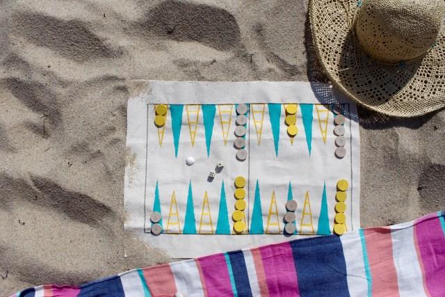 Nautical themed backgammon | Popcorn & Chocolate