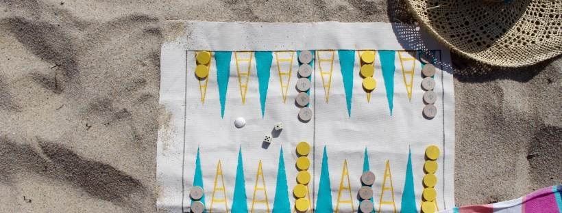 Nautical themed backgammon | Popcorn & Chocolate