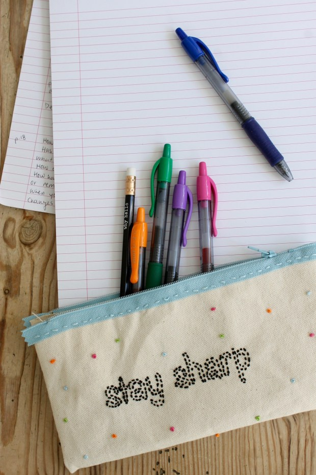 DIY pencil case