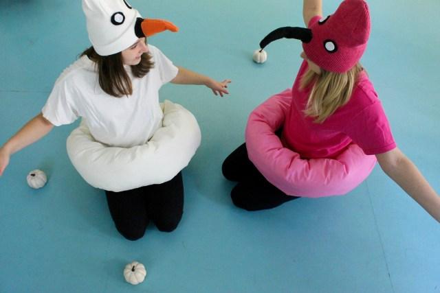 Halloween pool float costume | Popcorn & Chocolate