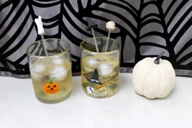 Easy Halloween Sculpey Drink Stirrers   Popcorn & Chocolate