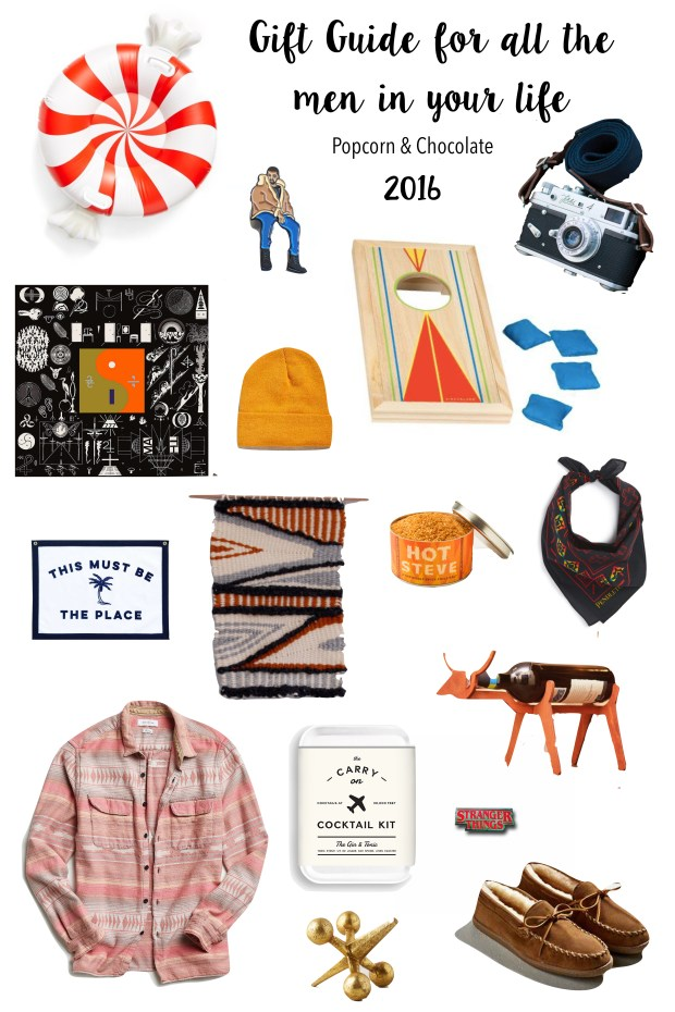 2016 gift guide for men | popcorn & chocolate