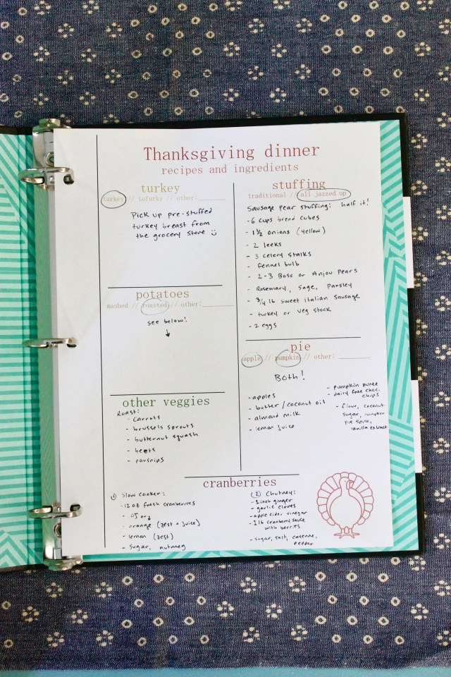 Thanksgiving recipes printable | Popcorn & Chocolate