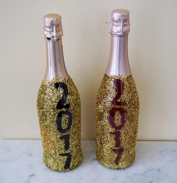 Glitter champagne
