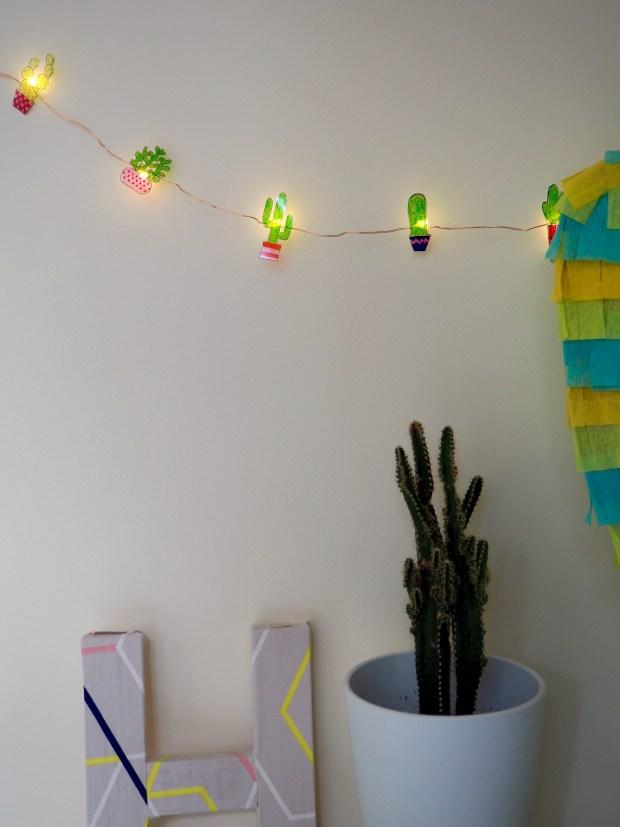 DIY Cactus Shrinky Dinks Lights | Popcorn and Chocolate