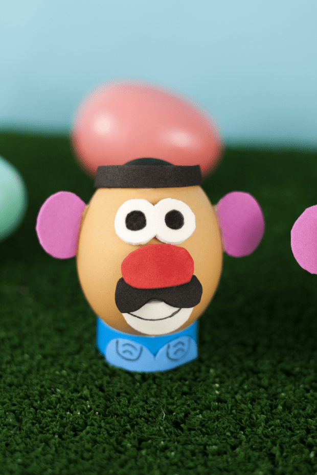 Mr. Potato Head Easter Egg