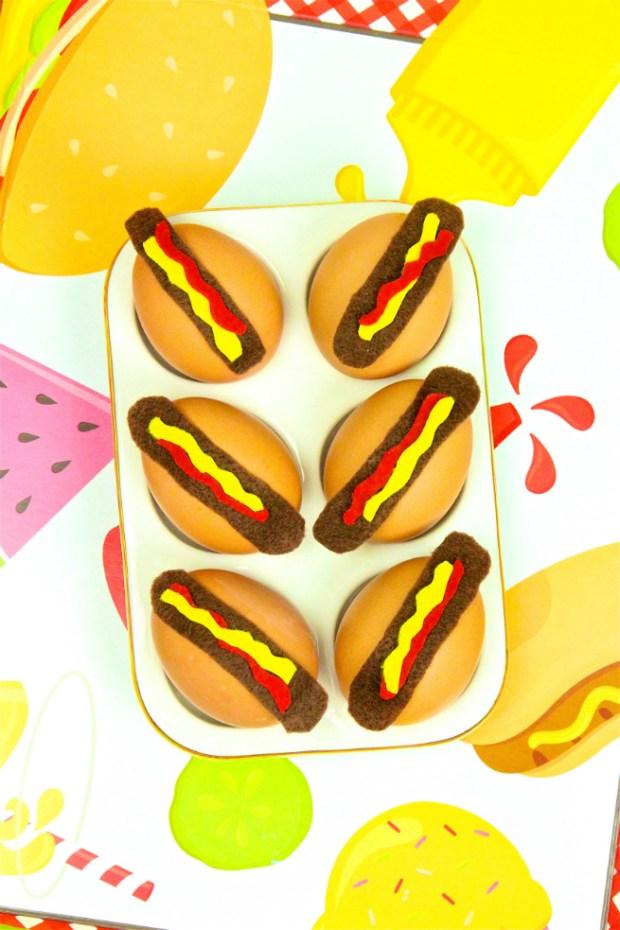 Hot dog Easter egg