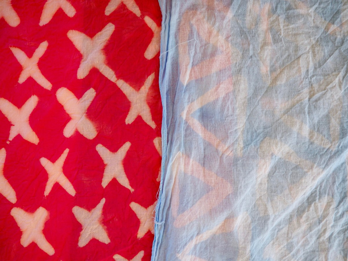 DIY Patterned Bandanas by Popcorn and Chocolate