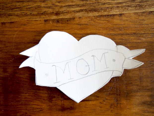 How to make a tattoo mom patch | Popcorn and Chocolate
