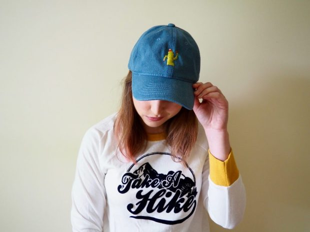 DIY Embroidered Cactus Baseball Hat | Popcorn and Chocolate