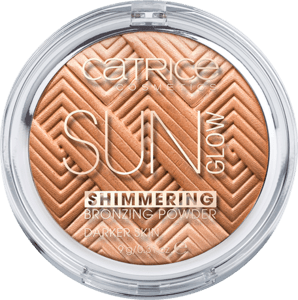 Catrice - Sun Glow Shimmering Bronzing Powder - Shimmering Hazel - Darker Skin