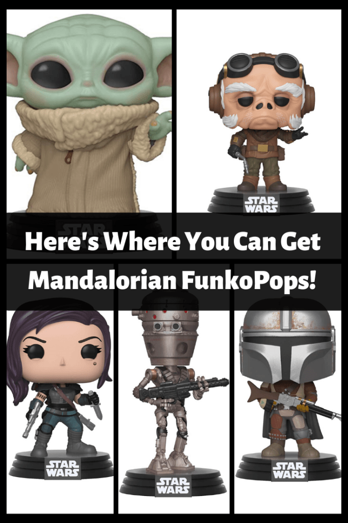 Here's Where You Can Get Mandalorian FunkoPops